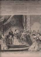 L´UNIVERS ILLUSTRE 05 01 1860 - NAPOLEON III SALLE DU TRONE - LA MORT DU CERF - FINLANDE ILE D'ALAND - METIER DISPARU - 1850 - 1899