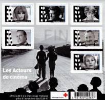 France 2012** Croix-Rouge / Acteurs De Cinéma - Ungebraucht