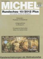 MICHEL Briefmarken Rundschau 10plus/2012 Neu 5€ New Stamps Of The World Catalogue And Magacine Of Germany - Old Paper