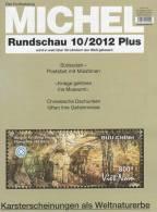 MICHEL Briefmarken Rundschau 10plus/2012 Neu 5€ New Stamps Of The World Catalogue And Magacine Of Germany - Alte Papiere