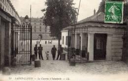 CPA SAINT-CLOUD   La Caserne D´Infanterie - Caserme