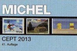 MlCHEL Briefmarken Katalog CEPT 2013 Neu 52€ Mit Jahrgangstabelle Von Europa Vorläufer NATO EFTA KSZE Symphatie-Ausgaben - Non Classés