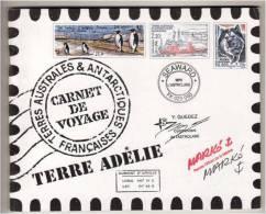 T A A F 2001- Carnet De Voyage (C 308) Terre Adelie - 14 Pages Aquarelles Marko - Neuf (Yvert 308/20)  (plusieurs Scans) - Booklets
