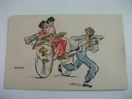 Cina China Illustratore Schiff Scene Di Vita Cinese Kelly & Walsh´s Series Sketches Of Chinese Life I Trasporti - China