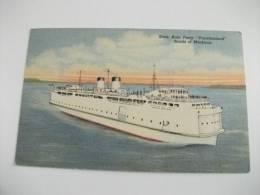 State Auto Ferry Vacationland Straits Of Mackinac Michigan U.s.a. - Commerce