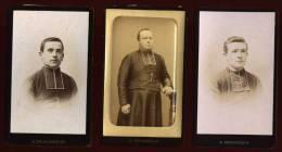 3 Photographies CDV  Photographe A. Desgardin St Brieuc Circa 1900  LET4 - Foto