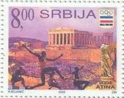 SRB 2004- OLYMPIC GAMES ATHENA, SERBIA, 1 X 1v, MNH - Ete 2004: Athènes