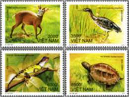 Vietnam 2011: Animals In Ba Be National Park - Mint NH - Stamps