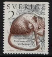 N° 1304 De Suède  - X X - ( E 1034 ) - Rodents