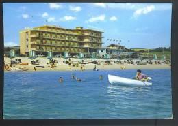 MARCELLI Riviera Del Conero ( Ancona) Hotel Numana  Cartolina  Viaggiata 1970 - Italia