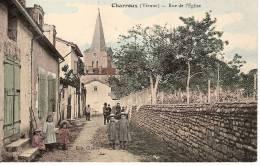 CHARROUX,rue De L'église - Charroux
