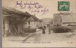 BOLANDOZ : Grande Rue, Epicerie Mille ...................... BQ176 - Andere Gemeenten