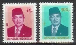 Mgm1304 BEROEMDE PERSONEN PRESIDENT SOEHARTO PRÄSIDENT SUHARTO FAMOUS PEOPLE INDONESIA 1987 PF/MNH  VANAF1EURO - Indonesië