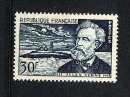 FRANCE  1955 Y&T 1026 **  Jules Verne, Nautilus - France