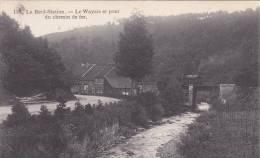 La Reid Station Le Wayais Et Pont Du Chemin De Fer   Avec Train - Theux