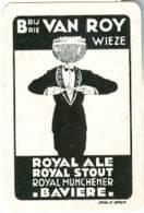 Brouwerij - Brasserie - Brewery Van Roy Wieze  - Royal Ale - Royal Stout - Royal Munchener Bavière - Speelkaarten
