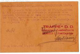 EUROPE BOSNIA BANJA LUKA TRAPPE D.D. ONCE PROPERTY COMPANY OF TRAPISTEN MONASTERY OLD POSTCARD 1931. - Bosnia And Herzegovina