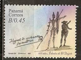 Panama 2007 Don Quichotte Obl ! - Panama