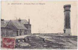 1529-France 14-Honfleur Ancien Phare De L'hospice-Animee-Ed GF Le Havre - Honfleur