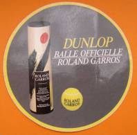DUNLOP BALLE OFFICIELLE ROLAND GARROS - TENNIS - AUTOCOLLANT - SPORT - Stickers