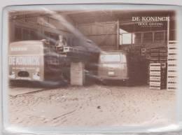 ANVERS  DE KONINCK - Bier - Brasserie. Email Metaal - LADEN & LOSSEN. - Autres Collections