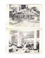 Petit Calendrier De Poche 1957 - Publicité LA PERGOLA Restaurant Champs Elysées PARIS METRO ETOILE GEORGE V - Tamaño Pequeño : 1941-60
