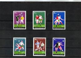 1974 -  Coupe De Football,a Munich Yv No 2846/2851 Et Mi No 3203/3208 MNH - 1948-.... Republiken