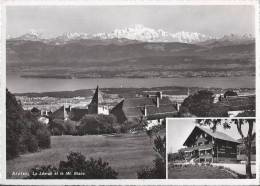L 678 - Arzier  Le Léman Et Le Mt Blanc - VD Vaud