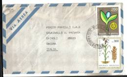 VER1989 - ARGENTINA , Lettera Per L' Italia Del 11 / 10 / 1981 - Argentina