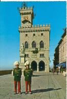 Republic Of San Marino, Liberta Square, Piazza Della Liberta, Unused Postcard [12089] - San Marino