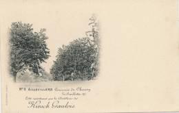 AILLEVILLERS - Cerisaie Du Chaney - La Cueillette - Carte éditée Par La Distillerie Du Kirsch Gaulois - Francia