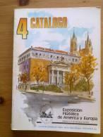LIBRO ESPAMER 1980 CATALOGO MADRID  OCTUBRE 1980.HISTORIA POSTAL.UNICO PARA  VENTA,200 PAGINAS,MULTITUD DE IMAGENES.PRES - Exposiciones Filatélicas