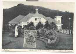 2554-CARTOLINA ILLUSTRATA DI MADEIRA-AFFRANCATA CON FRANCOBOLLO COMMEMORATIVO-1927 - Marcophilie