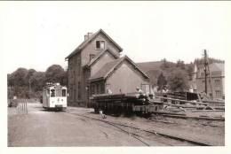 Martelange - Autorail à Destination De Bastogne ( Tramway) -  200ex - Martelange