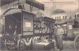 BOURGES EXPOSITION AUTOMOBILE AGRICOLE MOTEUR A ESSENCE DE MEIX MORIN DE DOMBASLE NANCY - Postkaarten