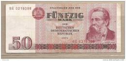 Germania Est - Banconota Circolta Da 50 Marchi - 1971 - [ 6] 1949-1990 : RDA - Rep. Dem. Tedesca