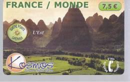 FRANCE / MONDE - 7,5 € - Kosmos - Frankrijk