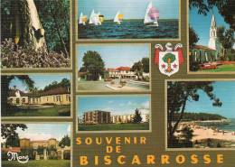 [40] Landes > BISCARROSSE VILLE - Multi Vues ( Hôpital, Château, Place De L'Orme, Eglise, Plage Maguide)* PRIX FIXE - Biscarrosse