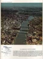- VUE AERIENNE DU PORT DE LONDRES . DOC. PHOTOGRAPHIQUE 1960 .  . - Repro's