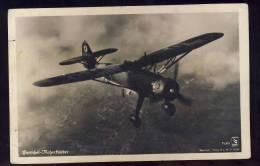 AK   HENSCHEL   HS 126        Old Postcard - 1939-1945: 2ème Guerre