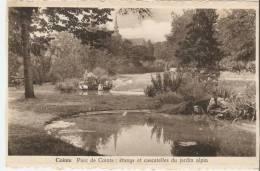 Liège Cointe Parc étangs Et Cascadelles Du Jardin Alpin - Liege