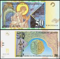 Macedonia / Banknotes / 50 Denars - Macédoine