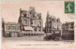 """VILLERS-SUR-MER/14/Le Rond-Point Et La Villa Du """" Couchant """" /Réf:612 - Villers Sur Mer"""