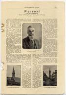 Finistère-Document--PLOUESCAT--par M Pierre TREMINTIN , Député,Maire Et Conseiller Général---photos--------------------- - Vieux Papiers