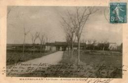 34 - MAUREILHAN - Avenue De La Gare - Hérault - Rare - Bon état - 1905 - Autres Communes
