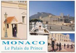 Cp , PRINCIPAUTÉ De MONACO , Le Palais Du Prince , Multi-Vues - Non Classés