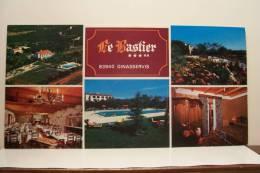 """GINASSERVIS -  Hotel Restaurant """"LE BASTIER """"  (format 210x105 ) - Non Classificati"""
