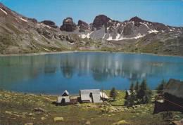 Cp , 04 , ALLOS , Le Lac Dans Le Parc National Du Mercantour - Francia