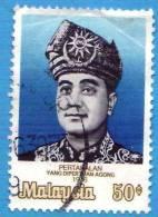 MALESIA - MALAYSIA - 1976 - Usato - Sultano Jahya Petra - 50 - Malesia (1964-...)