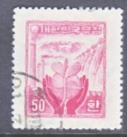 Korea 212   (o)    Wmk. 257  (1)  1955 Issue - Korea, South